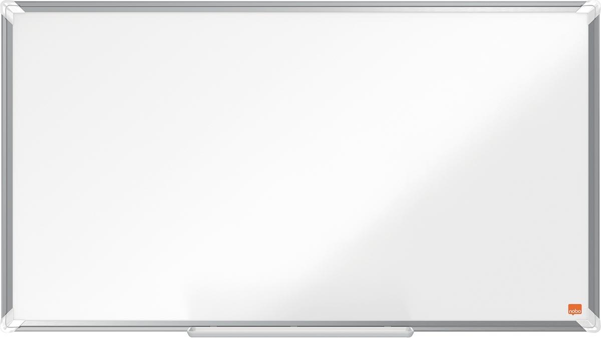Nobo Premium Plus Widescreen magnetisch whiteboard, gelakt staal, ft 89 x 50 cm
