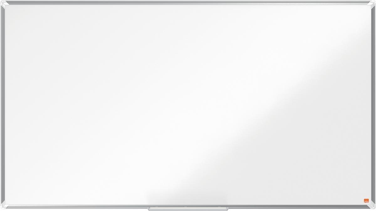 Nobo Premium Plus Widescreen magnetisch whiteboard, gelakt staal, ft 155 x 87 cm