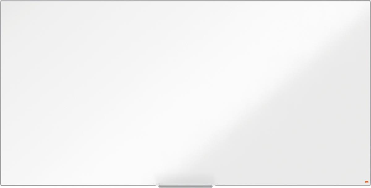 Nobo Impression Pro magnetisch whiteboard, gelakt staal, ft 240 x 120 cm