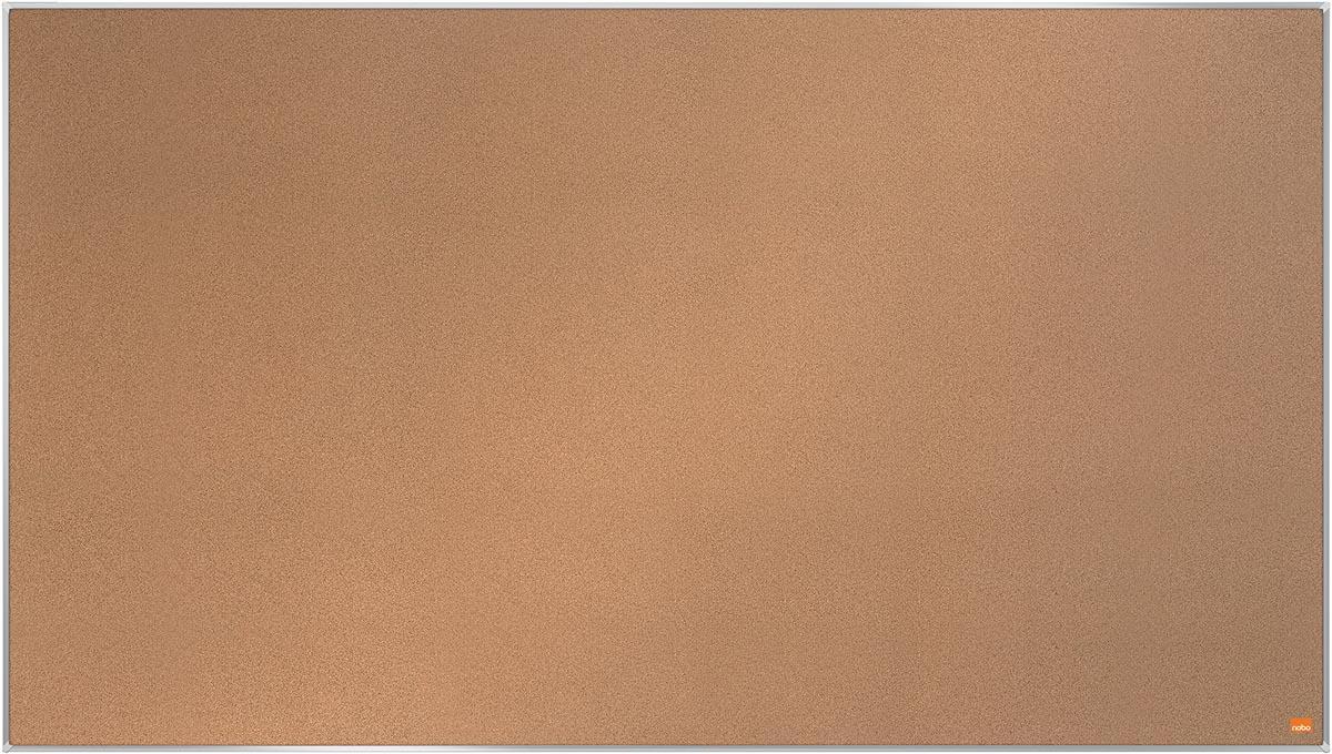 Nobo Impression Pro Widescreen kurkbord, ft 122 x 69 cm