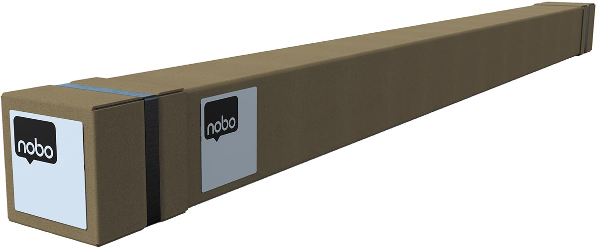 Nobo Premium Plus bureauscherm, doorzichtig PVC, 1470 x 860 mm