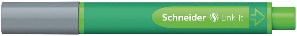 Schneider schrijfstift Link-it, zilvergrijs