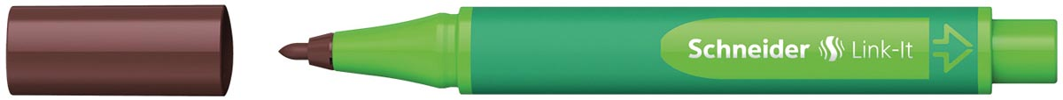 Schneider schrijfstift Link-it, topaasbruin