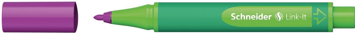 Schneider schrijfstift Link-it, elektrisch paars