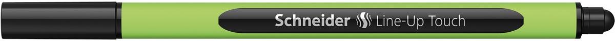 Schneider fineliner Line-Up Touch, zwart