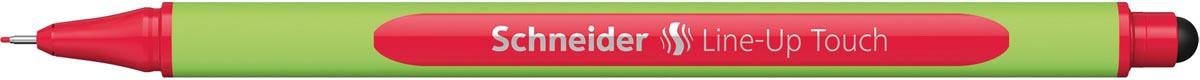 Schneider fineliner Line-Up Touch, rood