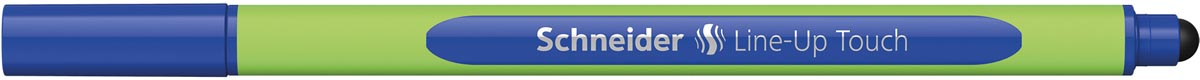 Schneider fineliner Line-Up Touch, blauw
