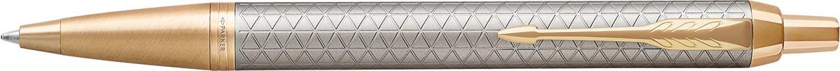 Parker IM Premium balpen zilver GT
