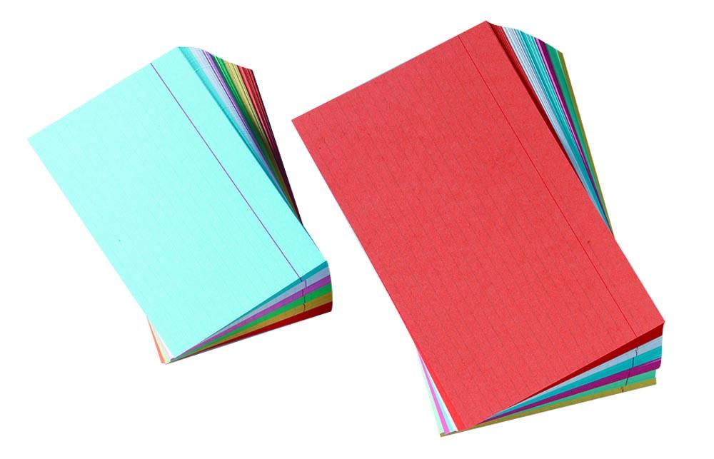 Gallery gekleurde systeemkaarten ft 12,5 x 20, gelijnd