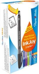 Paper Mate InkJoy stylus, doos met 12 stuks in geassorteerde kleuren