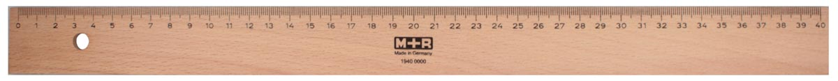 M+R lat uit hout 50 cm