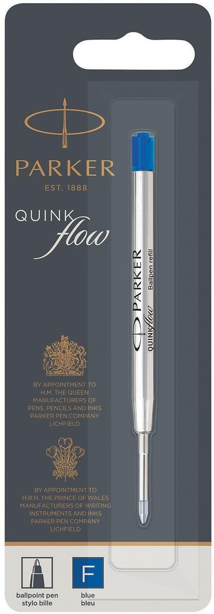 Parker Quinkflow vulling voor balpen fijn, blauw, op blister