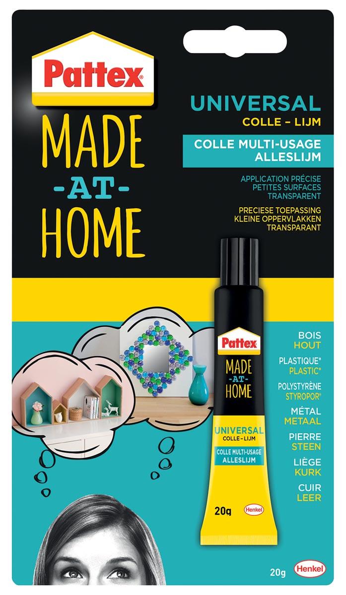 Pattex Made At Home alleslijm tube van 20 g op blister