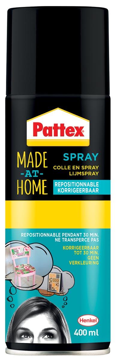 Pattex Made At Home lijmspray corrigeerbaar 400 ml