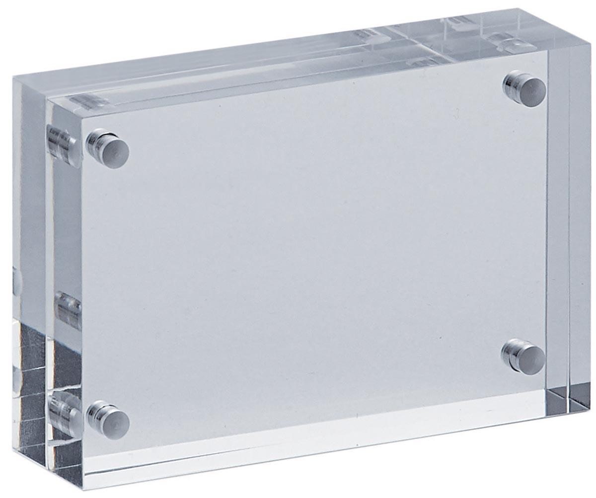 Fotolijst Maul 11.5x9x2.4cm acryl glashelder