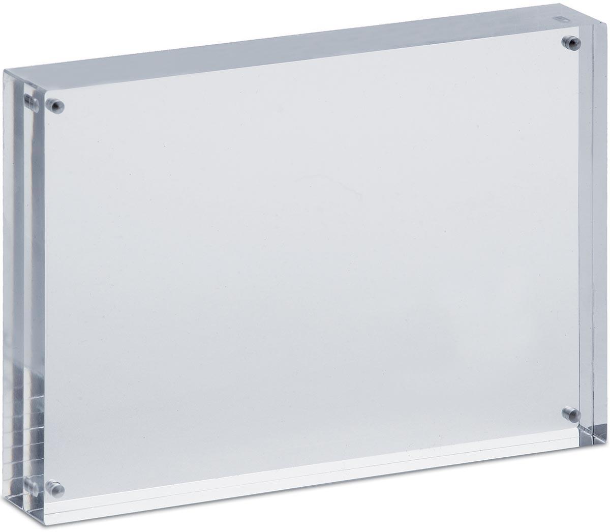 Fotolijst Maul 12.7x17.8x3cm acryl glashelder