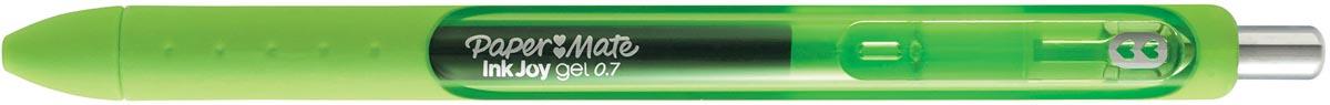 Paper Mate roller InkJoy Gel medium, limoengroen (lime light)