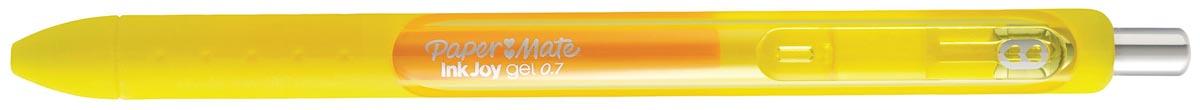 Paper Mate roller InkJoy Gel medium, geel (yellow twist)