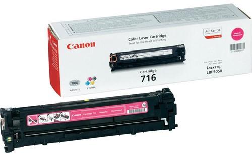 Canon toner 716M, 1.500 pagina's, OEM 1978B002, magenta