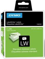 Dymo duurzame etiketten LabelWriter ft 28 x 89 mm, 520 etiketten