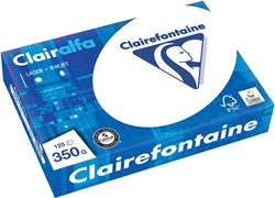 Clairefontaine Clairalfa presentatiepapier ft A4, 350 g, pak van 125 vel