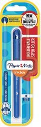 Paper Mate InkJoy liquid-ink roller, fijn, blauw, op blister