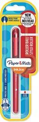 Paper Mate InkJoy liquid-ink roller, fijn, rood, op blister