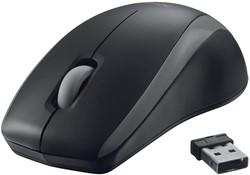 Trust Carve draadloze muis, zwart