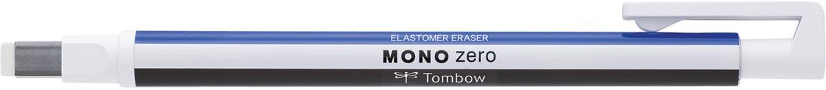 Tombow gumstift MONO zero met rechthoekige punt, navulbaar