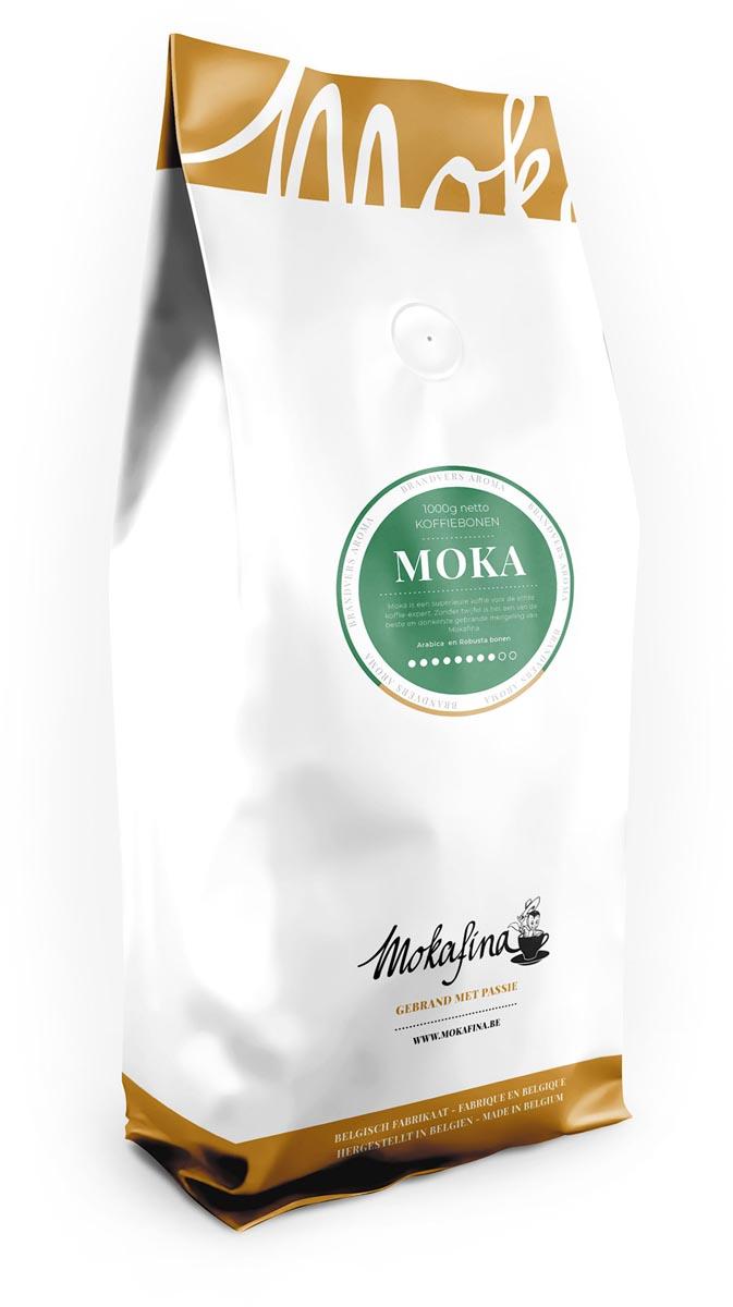 Mokafina Moka koffiebonen, 1 kg