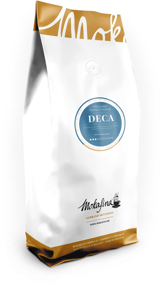 Mokafina Deca gemalen koffie, 1 kg