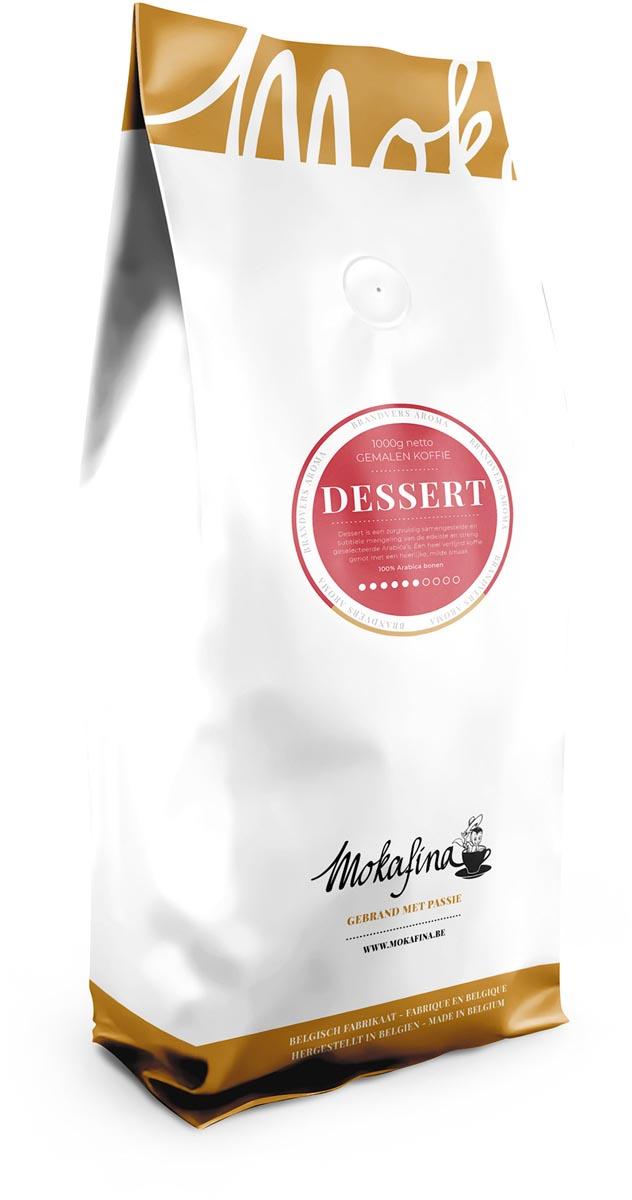 Mokafina Dessert gemalen koffie, 1 kg