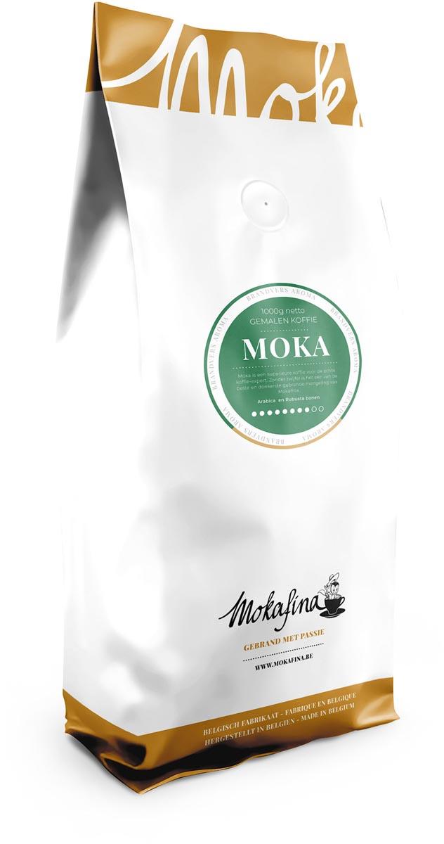 Mokafina Moka gemalen koffie, 1 kg