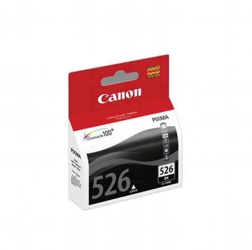 Canon inktcartridge CLI-526BK, 2.185 pagina's, OEM 4540B006, met beveiligingsysteem, zwart