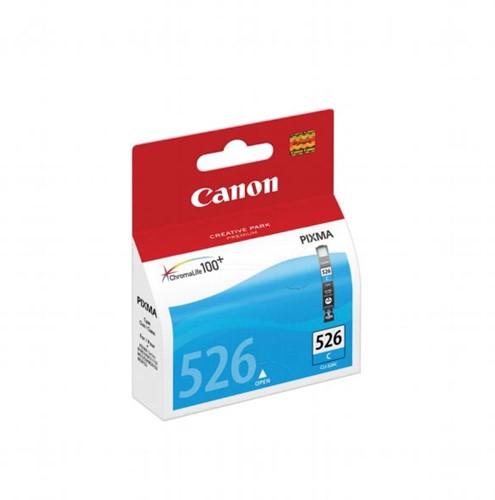 Canon inktcartridge CLI-526C cyaan, 462 pagina's - OEM: 4541B010, met beveiligingsysteem