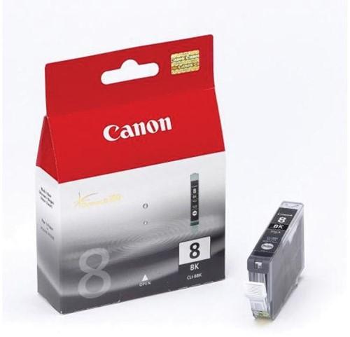 Canon inktcartridge CLI-8 zwart, 400 pagina's - OEM: 0620B029, met beveiligingsysteem