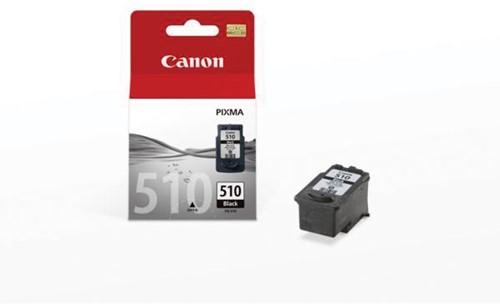 Canon inktcartridge PG-510 zwart, 220 pagina's - OEM: 2970B009, met beveiligingsysteem