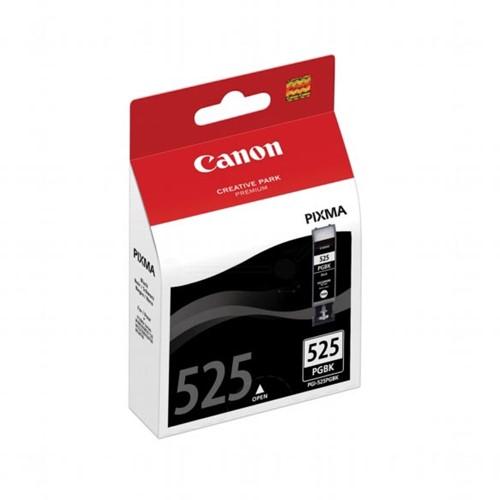 Canon inktcartridge PGI-525PGBK zwart, 311 pagina's - OEM: 4529B008, met beveiligingsysteem