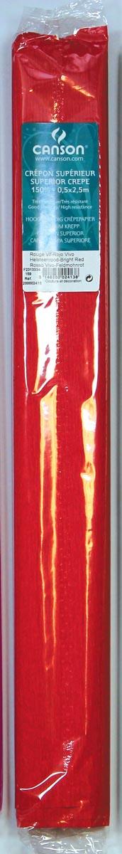 Canson crêpepapier rood