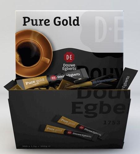 Douwe Egberts oploskoffie, Pure Gold, 1,5 g, doos van 500 stuks-2