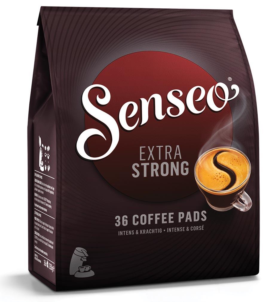 Douwe Egberts SENSEO Extra Strong, zakje van 36 koffiepads