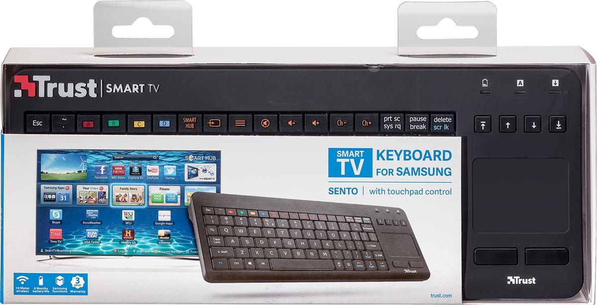 Trust toetsenbord Sento Smart TV voor Samsung, qwerty