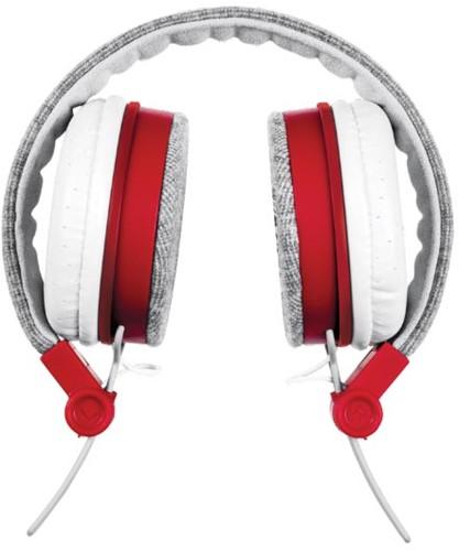 Trust Headset voor smartphones, tablets en laptops, grijs en rood-3