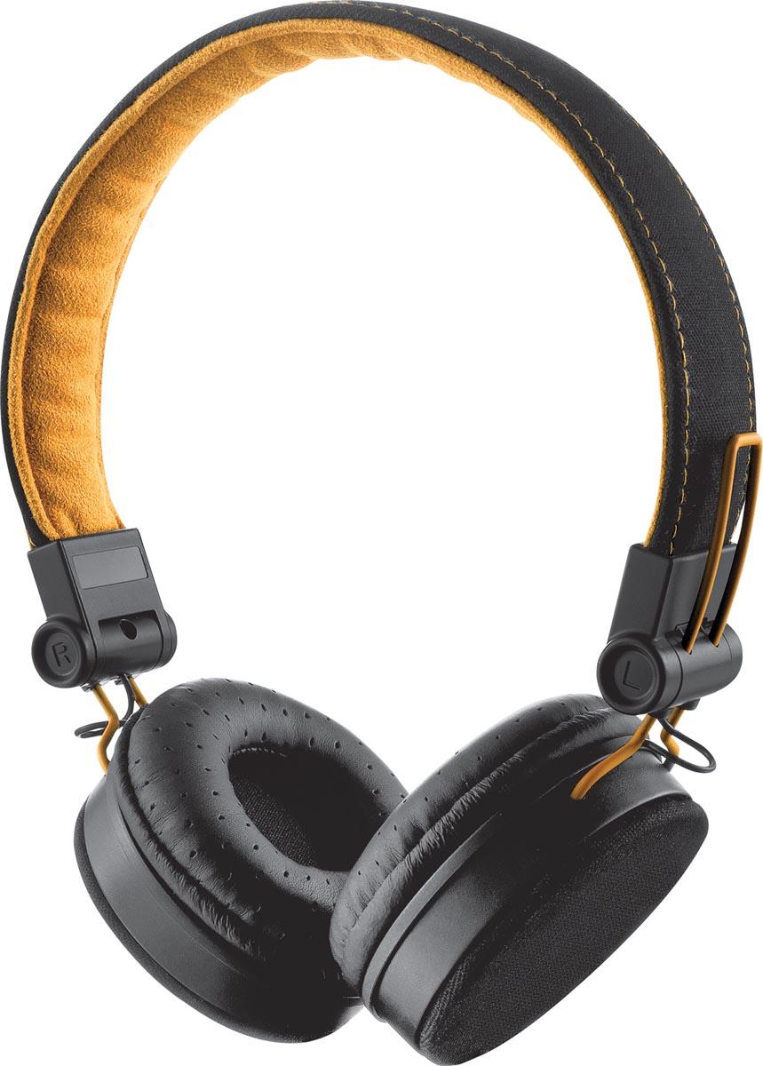 Trust Headset voor smartphones, tablets en laptops, zwart en oranje
