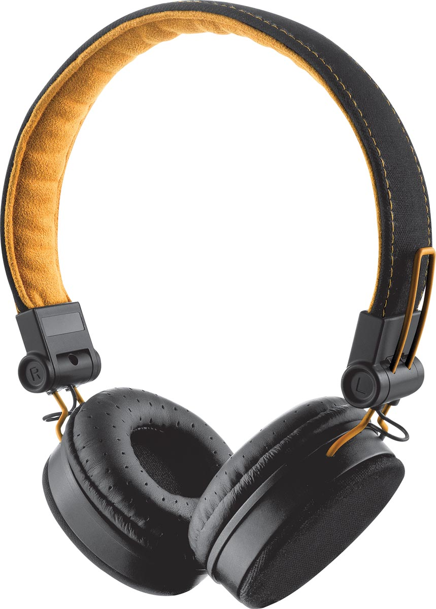 Fyber headphones black-orange