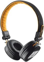 Trust Headset voor smartphones, tablets en laptops, zwarten oranje