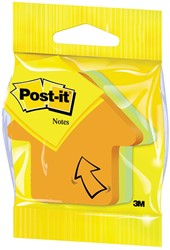 Post-it Notes mini pijl, 3 kleuren, blok van 225 vel, op blister