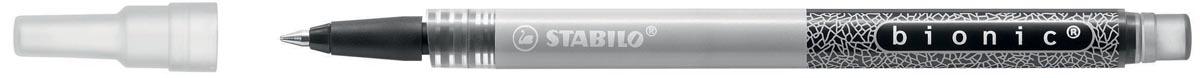 Rollerpenvulling Stabilo Bionic zwart 0.03mm