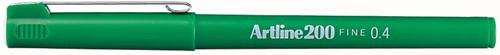 Fineliner Artline 200 groen