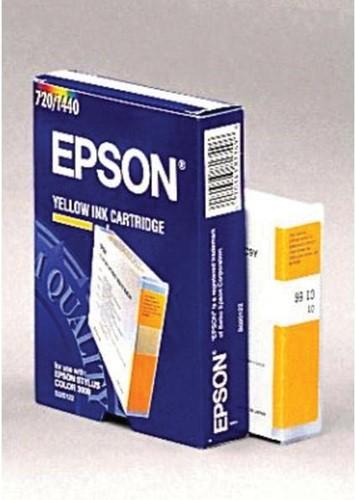 Epson inktcartridge S020122, 3.200 pagina's, OEM C13S020122, geel